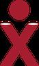 X - breite Schultern, schmale Taille, breite Hüfte